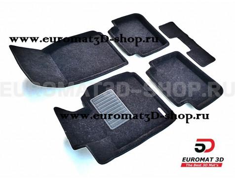 Текстильные 3D коврики Euromat3D Business в салон для Bmw 2 (F22) (2011-) № EMC3D-001213