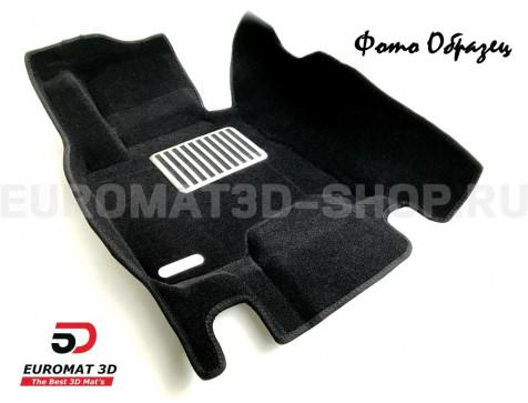Текстильные 5D коврики с высоким бортом Euromat3D в салон для Audi Q7 (2005-2014) № EM5D-001105