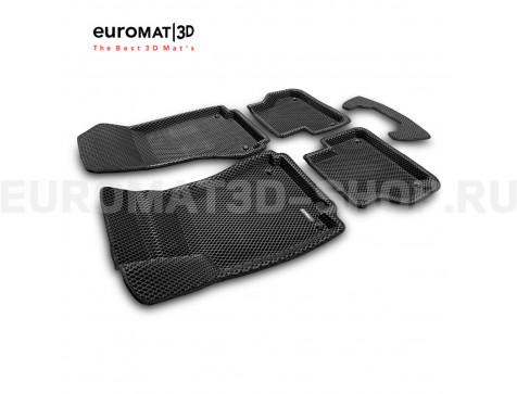 3D коврики Euromat3D EVA в салон для Audi A5 (2016-) Sportback № EM3DEVA-001102