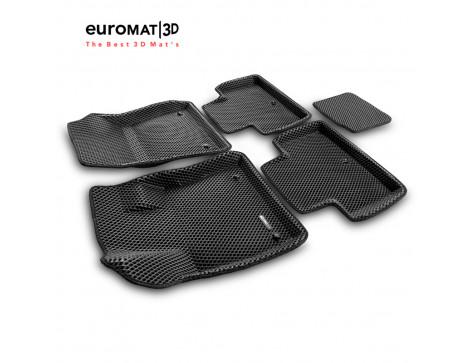 3D коврики Euromat3D EVA в салон для Infiniti QX50 (2018-) № EM3DEVA-002804