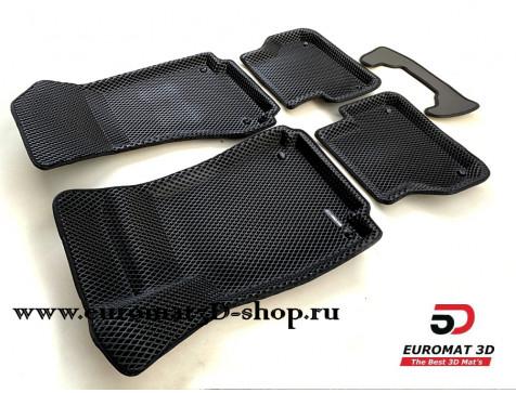 3D Коврики Euromat3D EVA В Салон Для AUDI A4 (2016-) № EM3DEVA-001102