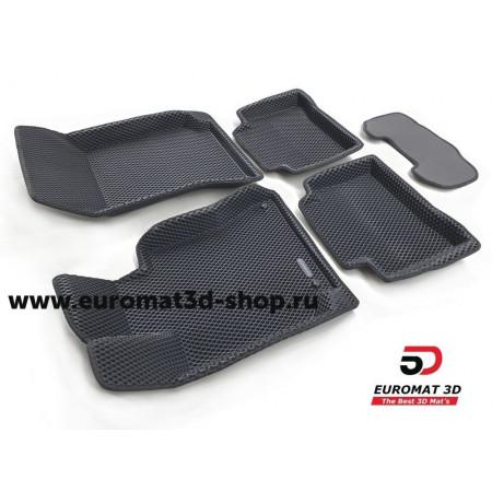 3D Коврики Euromat3D EVA В Салон Для MERCEDES W212 (E-Class) (2009-2015) № EM3DEVA-003505